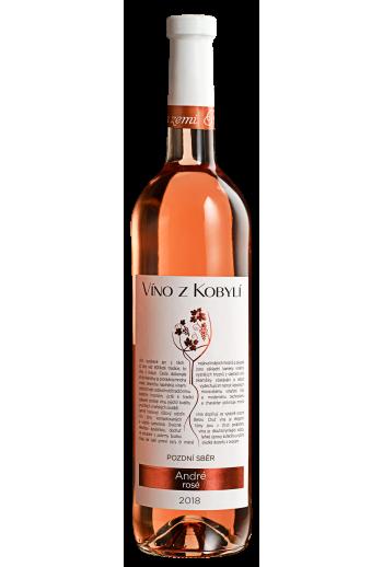 André rosé  Víno z Kobylí - Pravda o lidech a zemi