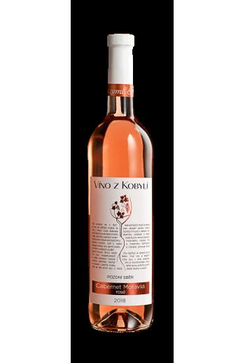 Cabernet Moravia rosé  RŮŽOVÁ VÍNA