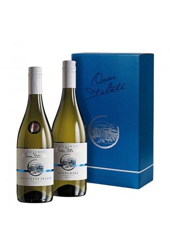 Set kabinetní vína Kolekce Osm Století á 2 láhve I.  Víno z kobylí - Pravda o lidech a zemi