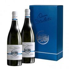 Set polosuchá vína Kolekce Osm Století á 2 láhve  Víno z kobylí - Pravda o lidech a zemi