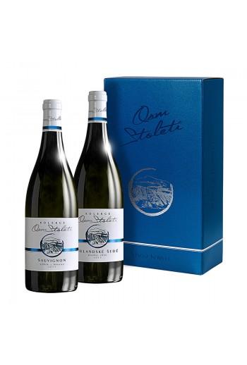 Set polosuchá vína Kolekce Osm Století á 2 láhve
