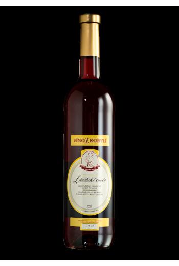 Lázeňské cuvée červené Víno z kobylí - Pravda o lidech a zemi