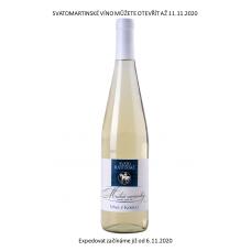 SVATOMARTINSKÉ VÍNO Muškát moravský 2020 Bílá vína