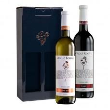 Sada pozdní sběr á 2 láhve II. Víno z kobylí - Pravda o lidech a zemi