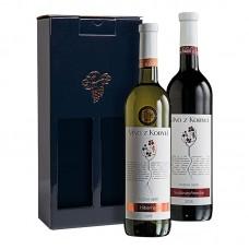 Sada pozdní sběr á 2 láhve IV. Víno z kobylí - Pravda o lidech a zemi