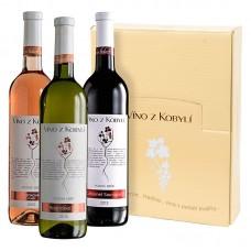 Sada pozdní sběr á 3 láhve I. Víno z kobylí - Pravda o lidech a zemi