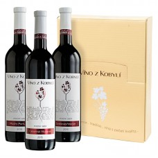 Sada pozdní sběr á 3 láhve II. Víno z kobylí - Pravda o lidech a zemi