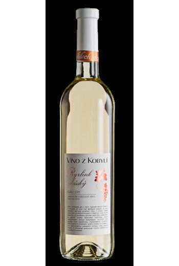Ryzlink vlašský Víno z Kobylí - Pravda o lidech a zemi