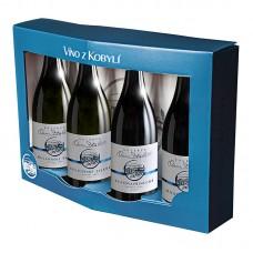 Set pozdní sběry Kolekce Osm Století á 4 láhve  Víno z kobylí - Pravda o lidech a zemi