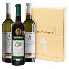 Sada výběr z hroznů á 3 láhve Víno z kobylí - Pravda o lidech a zemi