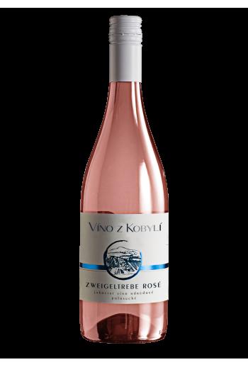 Zweigeltrebe rosé  Víno z Kobylí - Pravda o lidech a zemi